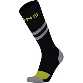 Mons Royale Lift Access Socks Herre Black / Grey